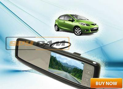 Normal Looking Mirror For In Car Video Surveillance In Delhi India