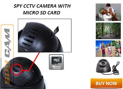 Spy CCTV Camera with Micro SD Card Facility In Delhi India
