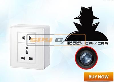 Spy CCTV Socket Camera In Delhi India