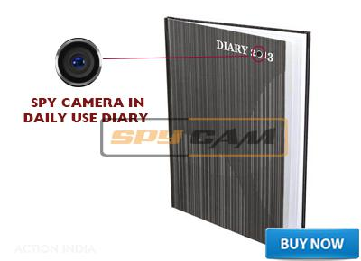 Spy Camera in Daily Use Diary In Delhi India