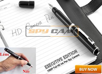 Spy Pen Camera Full HD 1080p (INK+NIB Pen) 4GB In Delhi India
