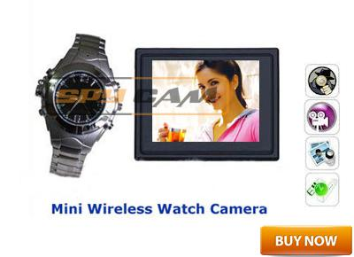 Spy Wireless Watch Camera In Delhi India