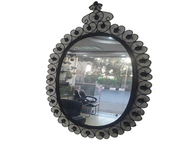 Spy camera in normal looking mirror for daily use in