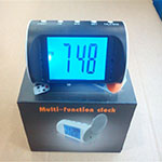 Spy Camera In Digital Table Clock