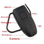 Spy Hidden BLuetooth Camera