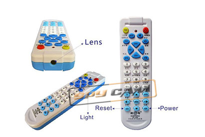 Spy Camera In Universal TV Remote