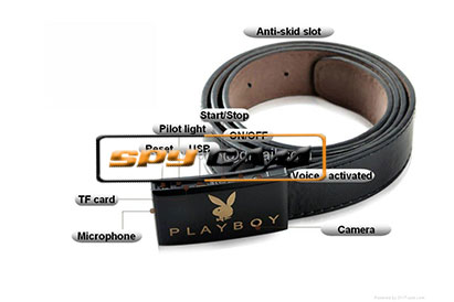 Spy Secret Belt Camera